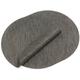 Chilewich Smoke Round Bamboo Placemat