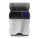 simplehuman® Deluxe Rectangular Recycler