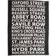 London Attractions Towel