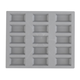 de Buyer® Elastomoule Mini Financier Grid, 15 Portions