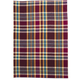 Eggplant Plaid Kitchen Towel