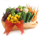 Melissa's® Baby Vegetables Gift Basket