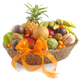 Melissa's® Deluxe Exotic and Tropical Fruit Gift Basket
