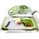 Dexas® Over-The-Sink Silicone Strainer Board