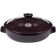 Emile Henry® Figue Flame Top Brazier, 3¼qt.