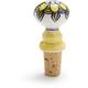 Yellow Ceramic Bottle Stopper