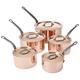 Mauviel® M'Heritage 250 Copper Sauce Pans