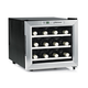 Wine Enthusiast® 12-Bottle Stainless Steel Silent Wine Refrigerator