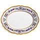 Deruta-Style Oval Platter, 15?