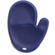 Blue Silicone Grid Oven Mitt