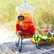 Hourglass Beverage Jar Stand