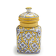 Floral Ceramic Canister, Small