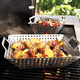 Sur La Table® Perforated Stainless Steel Grill Wok
