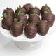 Belgian Chocolate Dipped Strawberries, 1 Dozen