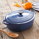 Le Creuset® Cobalt Wide Oval French Oven, 3½ qt.