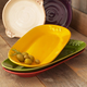 Italian Ceramic Olive Oval Platters