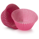 Solid-Pink Jumbo Bake Cups, Set of 20