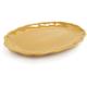 Rustic Ceramic Oval Platter, Mustard