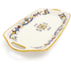 Deruta-Style Rectangular Handled Serving Platter
