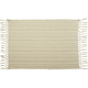 Sand Cotton Ribbed Placemat