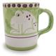 Hand-Painted Italian Mug, Frog