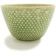Kotobuki Green Hobnail Teacup
