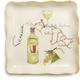 Venezia Italian Wine Appetizer Plate