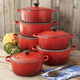 Le Creuset Signature Cerise Round French Ovens