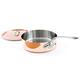Mauviel® M'héritage 150s Copper & Stainless Steel Sauté Pans