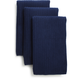 Navy Microfiber Kitchen Towels, Set of Three