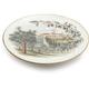 Olive Harvest Round Platter, 15.15