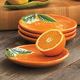 Orange-Shaped Plate, 6