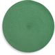 Mint-Green Round Woven Placemat