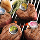 Rösle® Steak and Meat Thermometers, Set of 4