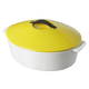 Revol® Revolution Seychelles-Yellow Oval Casserole, 4¾ qt.