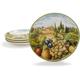 Tuscan Landscape Salad Plate, 9½