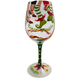 Get Your Jingle On Wine Glass