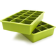 Green Perfect Cube Ice Trays, Set of 2