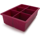Tovolo King  Cube Ice Tray, Raspberry