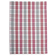 Metallic Thin-Check Kitchen Towel
