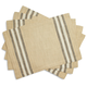 Sur La Table Farmhouse Stripe Placemats, Set of 4