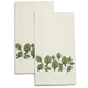 Artichoke Embroidered Kitchen Towel, 28