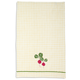 Embroidered Radish Kitchen Towel, 28