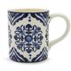 Blue Tuile Mug