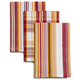 Harvest Plaid Striped Dishcloths, 15