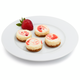 Mini Strawberry Cheesecakes, 40 Pieces