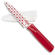 Kuhn Rikon Red and White Star Paring Knife