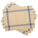 Sainte-Germaine Blue Placemats, Set of 4