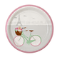 Meri Meri Parisian Bicycle Paper Luncheon Plates