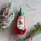 Hot Sauce Bottle Ornament